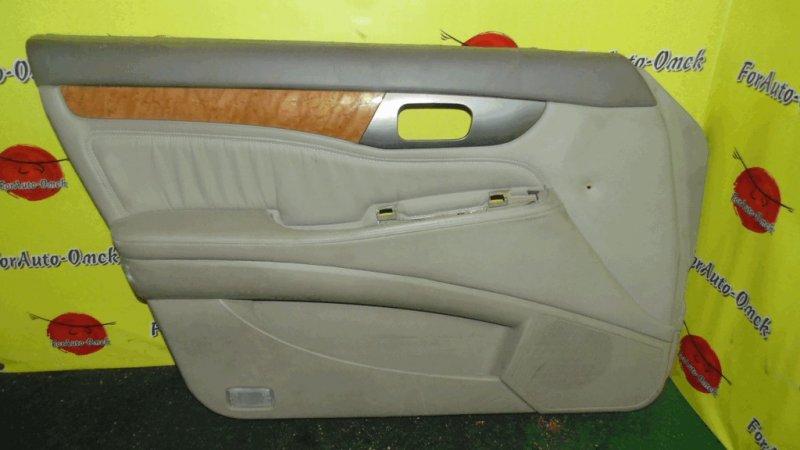 Обшивка дверей Honda Accord CL7 передняя левая