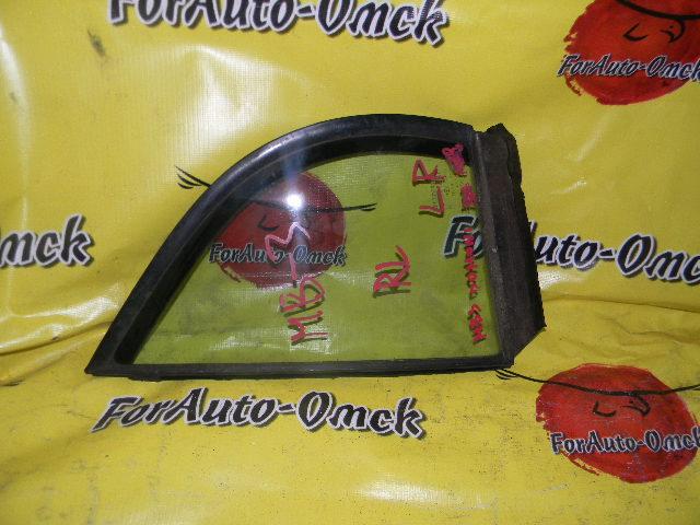 Стекло двери (форточка) Honda Domani MB3 заднее левое