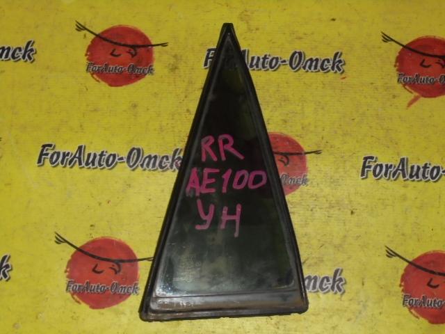 Стекло двери (форточка) Toyota Corolla AE100G заднее правое