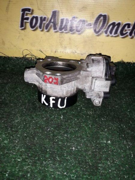 Заслонка дроссельная Peugeot 207 KFU (б/у)
