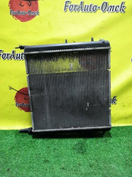 Радиатор двс Peugeot 207 WC KFU (б/у)