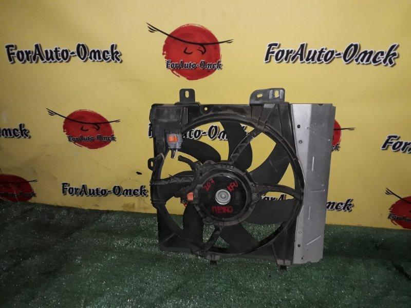 Диффузор радиатора Peugeot 207 WC KFU (б/у)