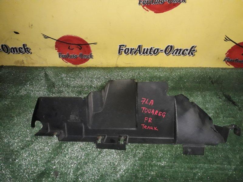 Воздуховод радиатора Volkswagen Touareg 7LA BMV передний правый (б/у)