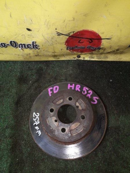 Диск тормозной Mazda Cruze HN11S передний (б/у)
