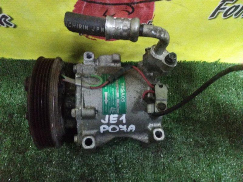 Компрессор кондиционера Honda Zest JE1 PO7A (б/у)
