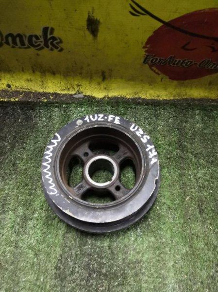 Шкив коленвала Toyota Aristo UCF10 1UZ-FE (б/у)