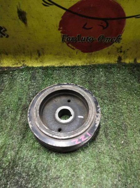 Шкив коленвала Toyota Allex ZCA25 1ZZ-FE (б/у)