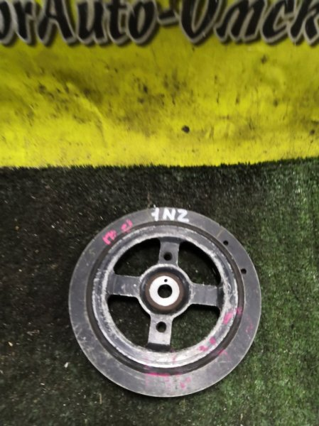 Шкив коленвала Toyota Allex NCP10 1NZ-FE (б/у)