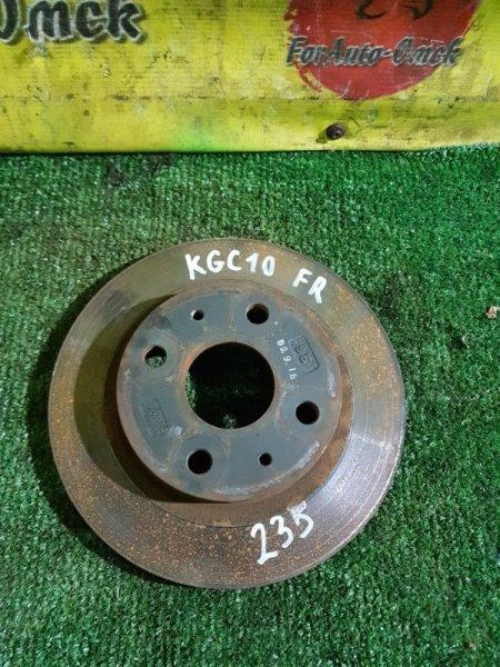 Диск тормозной Toyota Boon KGC10 передний (б/у)