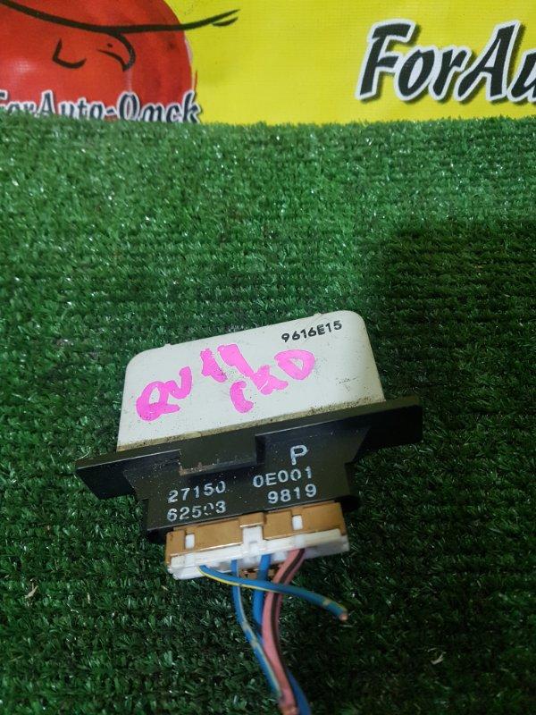 Реостат печки Nissan Bluebird QU14 QG18DE (б/у)