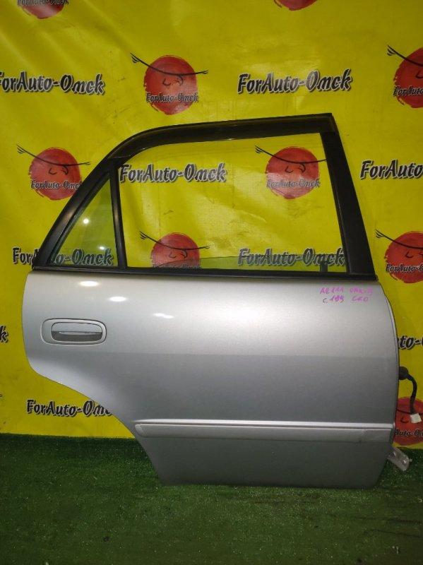 Дверь Toyota Sprinter Carib AE111 4A-FE задняя правая (б/у)