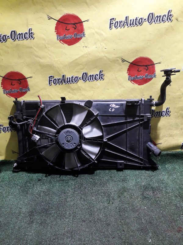 Радиатор двс Mazda Mazda5 CREW CREW LF-DE (б/у)