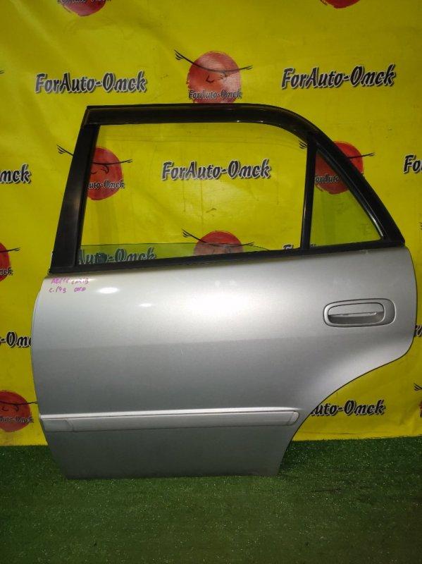 Дверь Toyota Sprinter Carib AE111 4A-FE задняя левая (б/у)