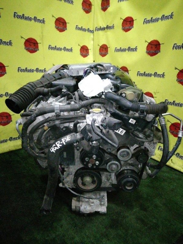 Двигатель Toyota Crown GRS180 4GR-FSE (б/у)