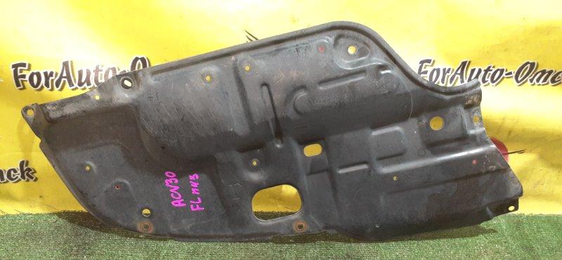 Защита двс Toyota Alphard ACR30W передняя левая (б/у)