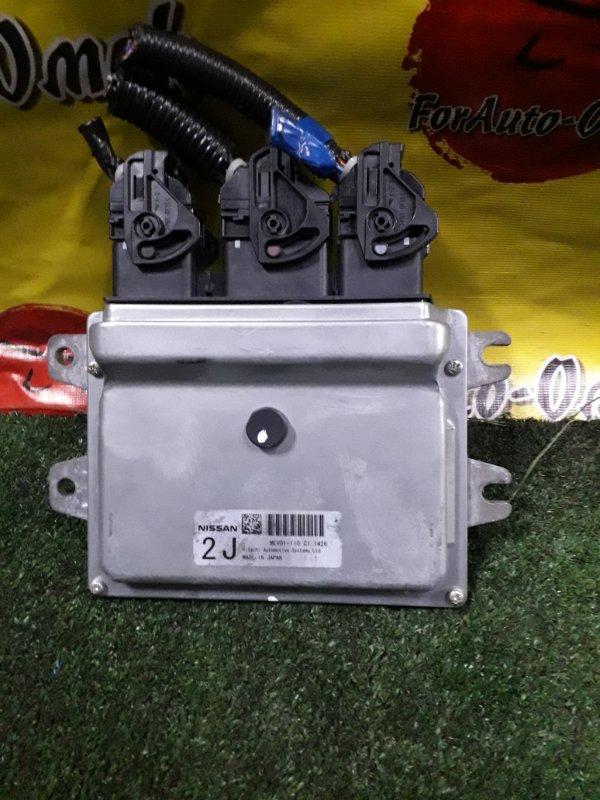 Блок управления efi Nissan Leaf ZE0 EM61 (б/у)