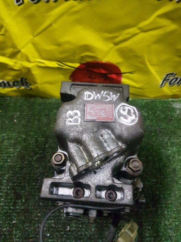 Компрессор кондиционера Ford Festiva DW3WF B3 1997 (б/у)
