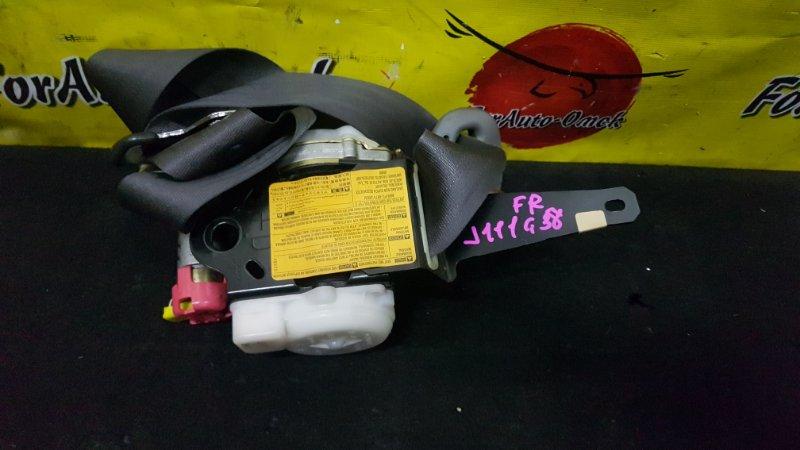 Ремень безопасности Daihatsu Terios Kid J111G EF-DEM 2003 передний правый (б/у)