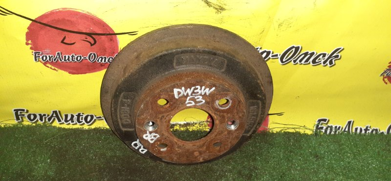 Тормозной барабан Ford Festiva DW3WF B3 1997 задний (б/у)