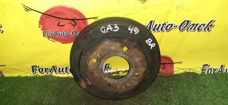 Барабан тормозной Honda Logo GA3 D13B 2000 задний (б/у)