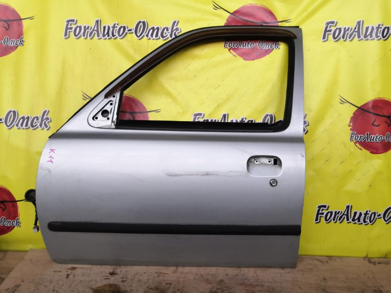 Дверь Nissan March AK11 передняя левая (б/у)