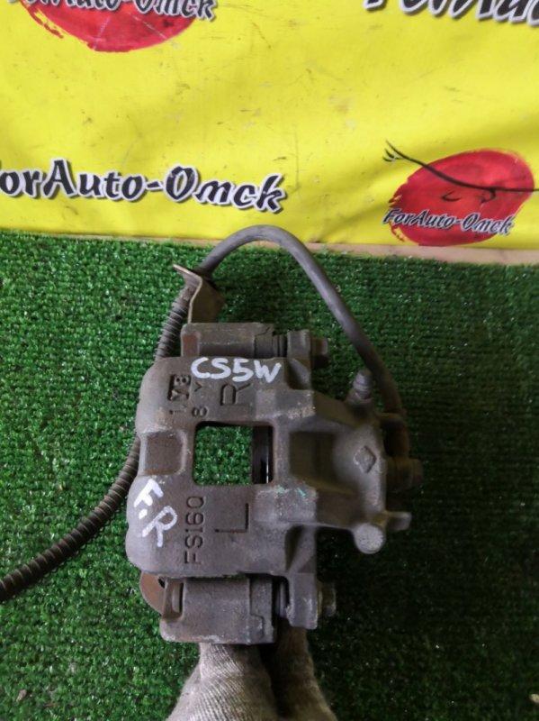 Суппорт Mitsubishi Dingo CQ1A передний правый (б/у)