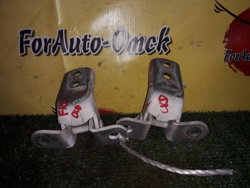 Петли на дверь Toyota Carina AT212 5A-FE 1999 передние правые (б/у)