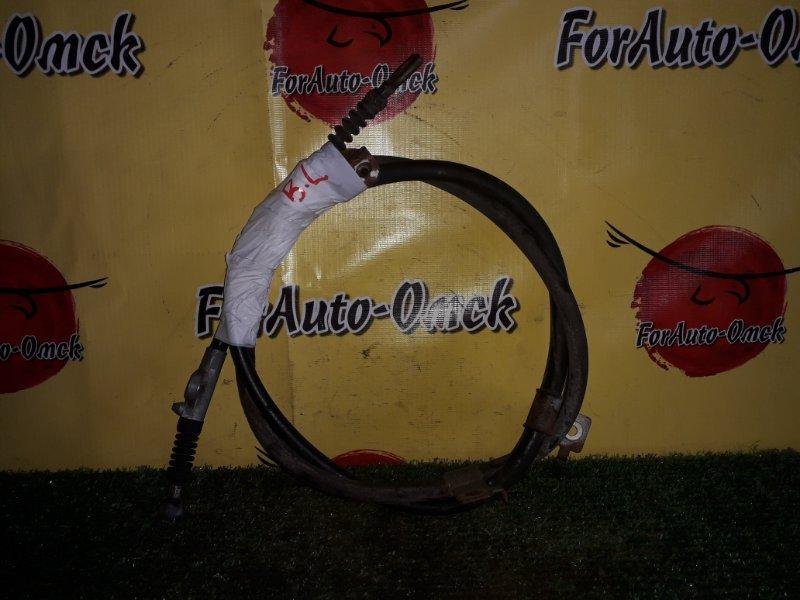 Тросик ручного тормоза Nissan Bluebird ENU14 задний левый (б/у)