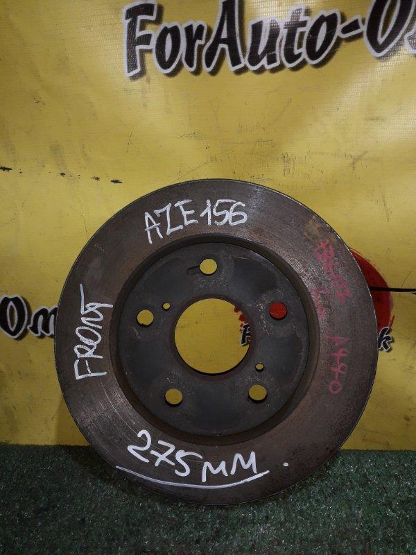 Диск тормозной Toyota Blade AZE154H передний (б/у)