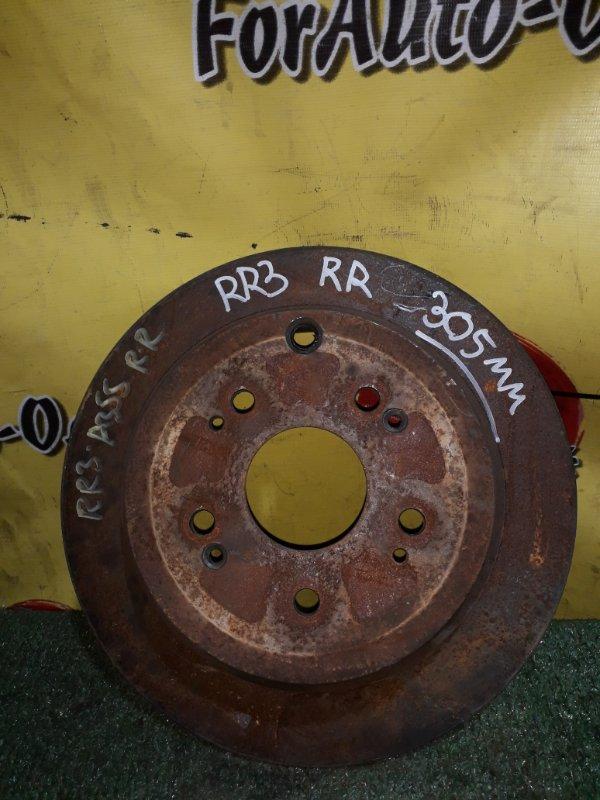 Диск тормозной Honda Elysion RB1 задний (б/у)