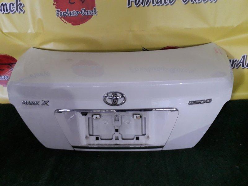 Крышка багажника Toyota Mark X GRX120 (б/у)