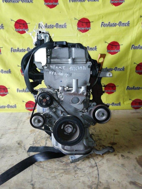 Двигатель Nissan Ad AK12 CR12-DE (б/у)