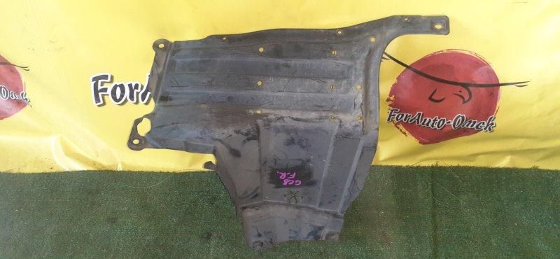 Защита двс Honda Fit GE6 передняя правая (б/у)