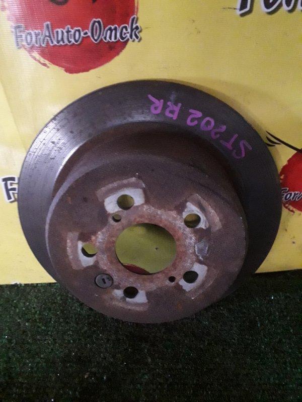Диск тормозной Toyota Caldina AT191 3S-FE задний (б/у)