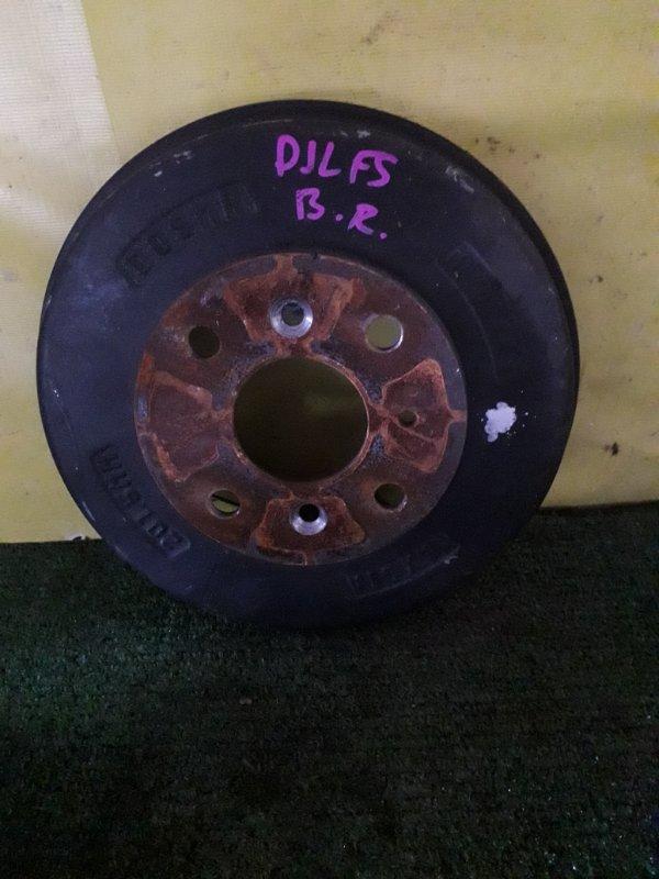 Барабан тормозной Mazda Demio DJ3AS (б/у)