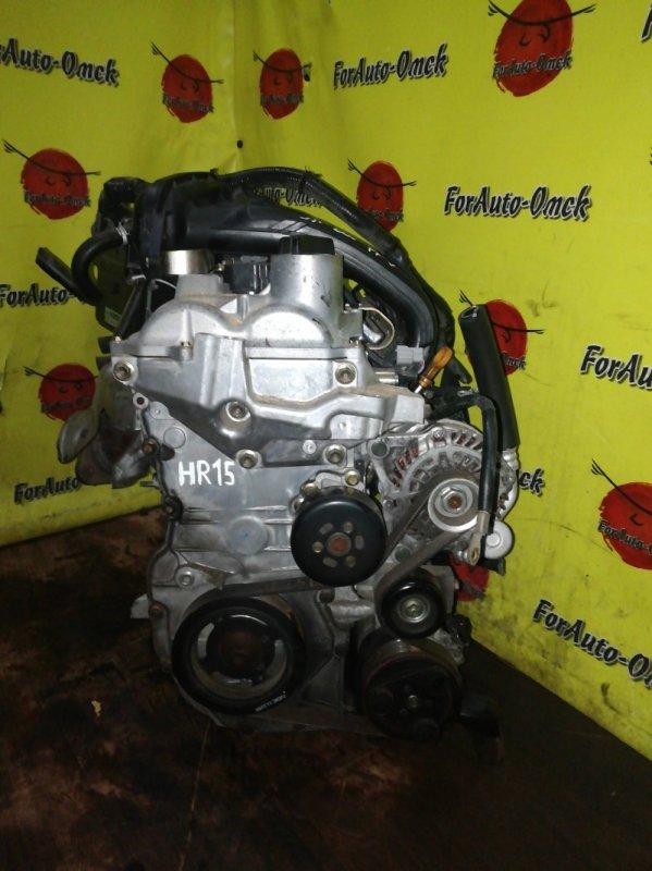 Двигатель Nissan Ad BVY12 HR15-DE (б/у)