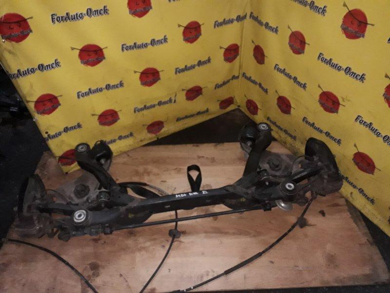 Балка Audi A4 B6 ALT 2004 задняя (б/у)