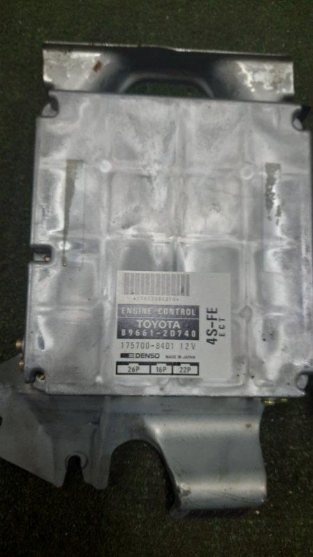 Блок управления efi Toyota Corona Exiv ST200 4S-FE 1996 (б/у)