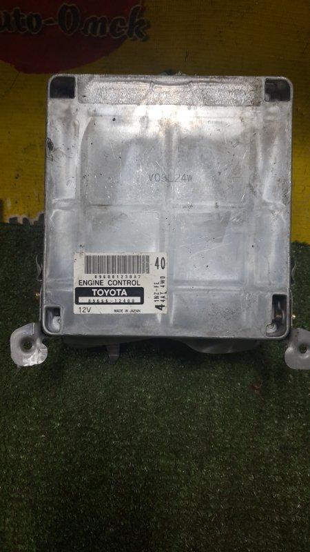 Блок управления efi Toyota Corolla Runx NZE124 1NZ-FE 2004 (б/у)
