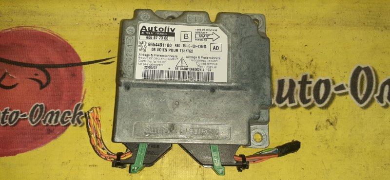 Блок управления airbag Peugeot 307 3A/C EW10AF 2009 (б/у)