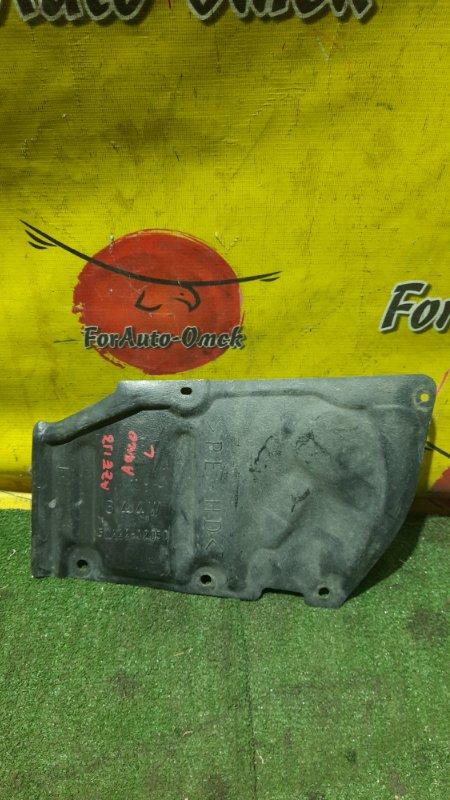 Защита двс Toyota Blade AZE154H передняя левая (б/у)