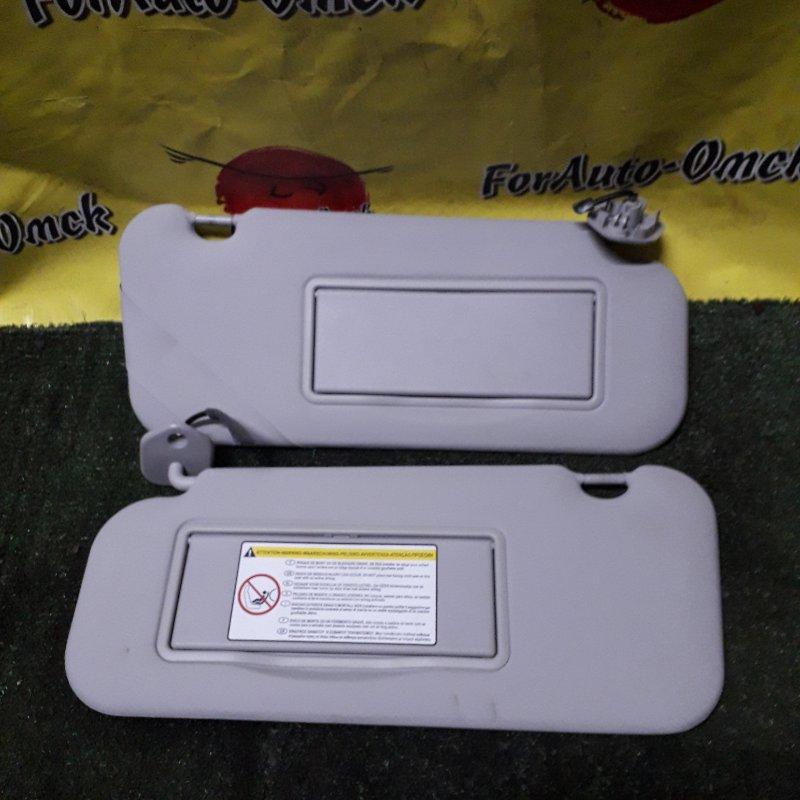Козырек солнцезащитный Peugeot 307 3A/C EW10AF 2009 (б/у)