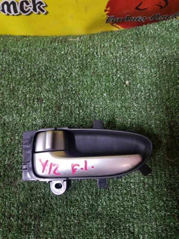 Ручка двери внутренняя Nissan Wingroad Y12 (б/у)