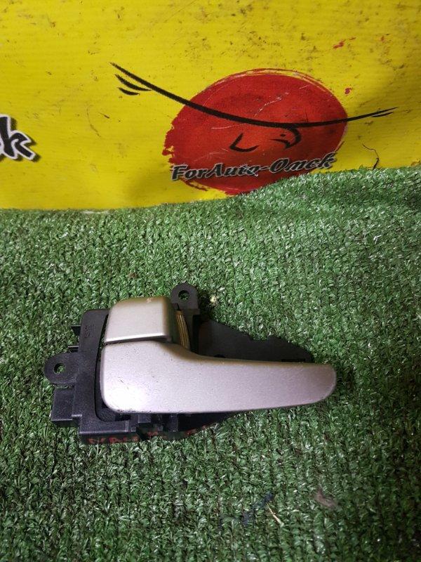 Ручка двери внутренняя Mitsubishi Grandis NA4W задняя левая (б/у)