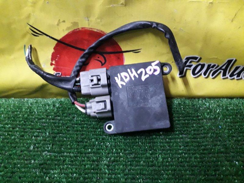Блок управления вентилятором Toyota Hiace KDH205 (б/у)
