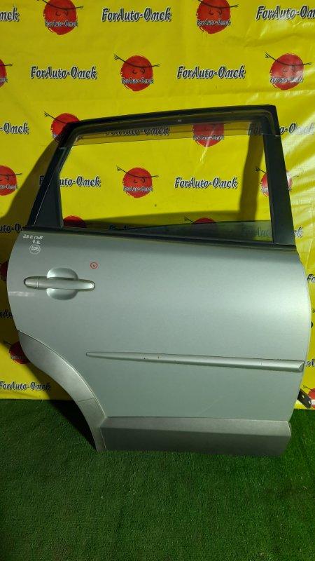 Дверь Toyota Voltz ZZE138 1ZZ-FE 2002 задняя правая (б/у)