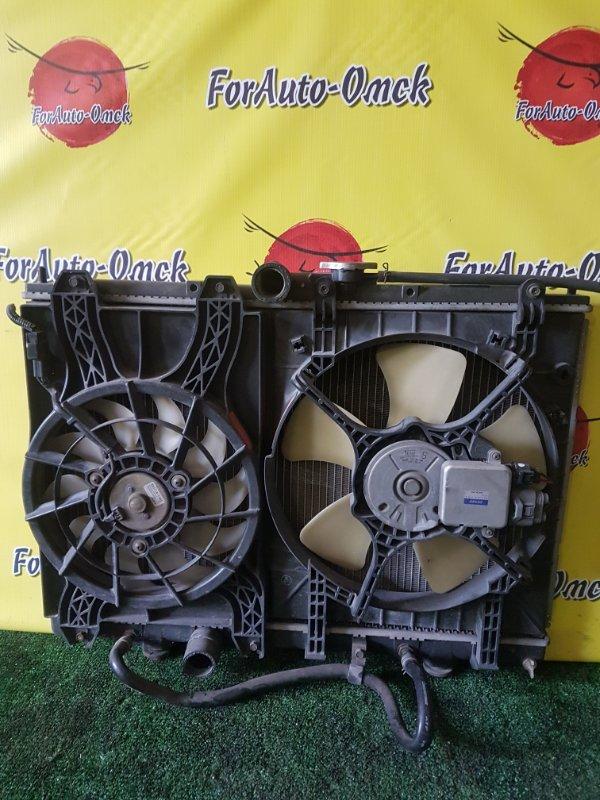 Радиатор двс Mitsubishi Pajero Io H61W 4G93 (б/у)