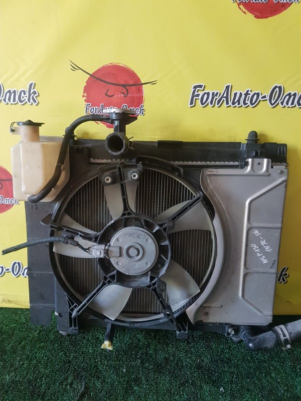 Радиатор двс Toyota Belta KSP92 1KRFE (б/у)