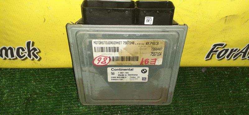 Блок управления efi Bmw 3-Series E91 N52B25 2008 (б/у)