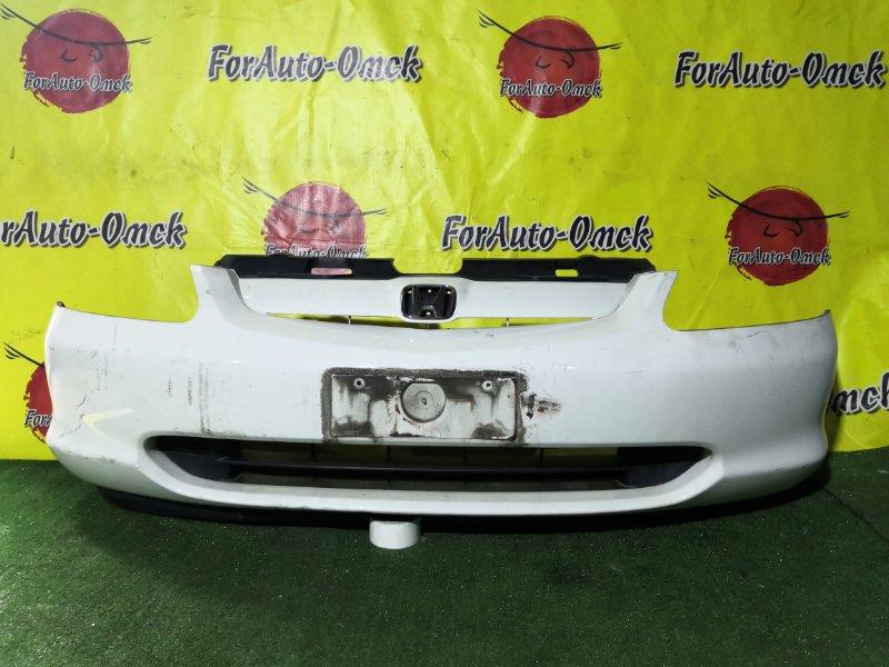 Бампер Honda Civic EU1 передний (б/у)